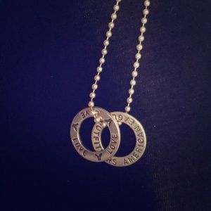 AE love necklace